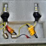 Установка универсальных ламп дхо в поворотники