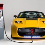 Электрические автомобили.